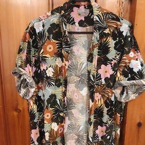 Zara Men Floral Shirt
